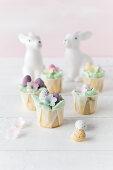Mini Easter cupcakes