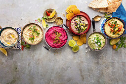Five Ways with Hummus