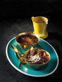 Crackle-crust rice pudding