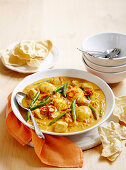 Egg and Fish Curry