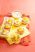 Coconut, Carrot and Orange Muffins