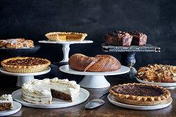Christmas cake buffet