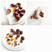 Preparing roasted chestnuts