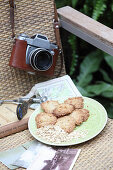 Oat biscuits as travel snacks
