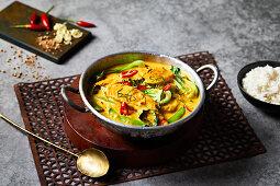 Malaysian coconut curry