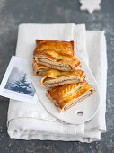 Savory Puff Pastry Sandwiches Filled with Anchovies