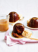 Caramel and Walnut Date Pudding