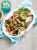 Chicken Super Food Pasta with Avocado Pesto