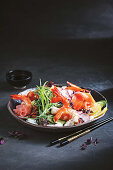 Chirashi scattered sushi (Japan)
