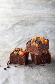 Apricot, almond and chocolate fudge (gluten free)
