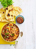 Lamb, pumpkin and chickpea curry (One pan wonder)