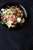 Steak sandwich salad