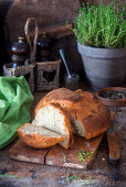Whole grain bread with Thyme