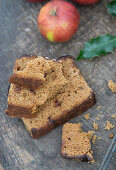 Spice bread and apples for Christmas