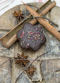 Gingerbread with spinkles