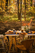 Fall forest table