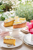 A summer butternut squash cake with yoghurt frosting