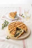 Vegetable bread (Italy)
