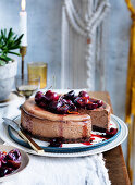 Black Forest cheesecake (1970s)
