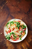 Thai seafood and glass noodle salad