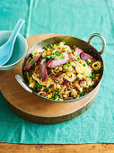 Asian fried rice with pork