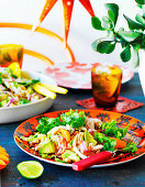 Hähnchensalat mit Avocado (Yucatan, Mexiko)