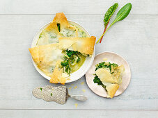 Chard tart (low carb)