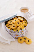 Orange and coffee biscuits