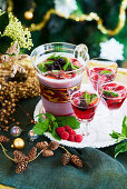 Christmas Berry and Ruby Cabernet punch