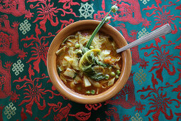 Petse Fry (cabbage stew from Tibet)
