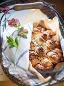 Herb rose bread