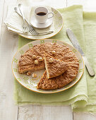 Crumbly Hazelnut Cake