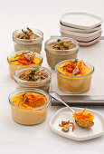 Pudding with Artichokes, Carrots and Herbs