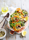 Sprouts Apple and Seed Slaw with Macadamia Dressing