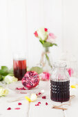 Homemade Grenadine (Pomegranate Syrup)