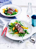 Lamb, Fennel and Orange Salad