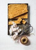 Classic caramel fudge