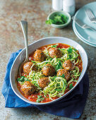 Summer pilchard spaghetti