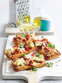 Mozzarella Antipasto Melts