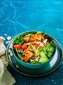 Tandoori chicken salad (Low carb)