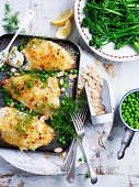 Couscous and Crusted Snapper
