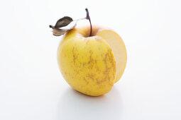 An Opal apple, sliced