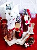 Pomegranate tea cordial (Homemade gift)