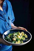 Anchovy, broccolini and chilli orecchiette