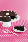Gluten-free Moist Flourless Choc-Nut Cake