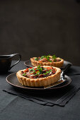 Tarte Pissaladiere with onions and anchovies
