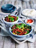 Lamb and Black Bean Stir-Fry