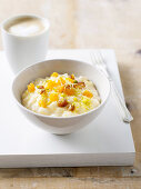 Date and Apricot Creamy Rice