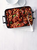 Chorizo and Chickpea Stew