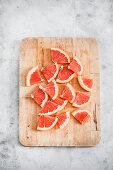 Grapefruit wedges